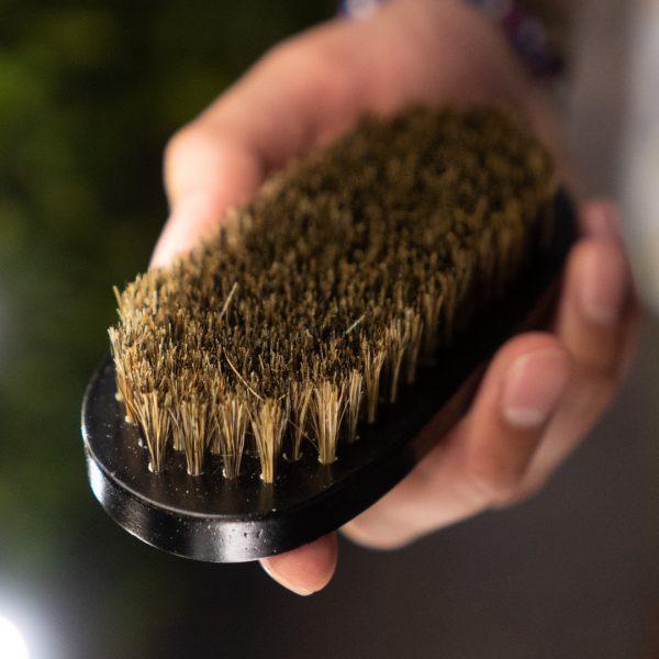 Horse-Hair Bristle Brush